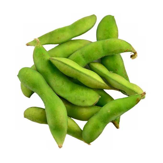 一小堆毛豆菜用大豆黄豆青豆美味蔬菜5512308png免抠图片素材