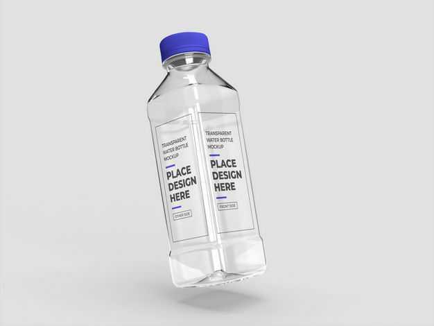 矿泉水纯净水饮用水塑料瓶样机4022771图片素材