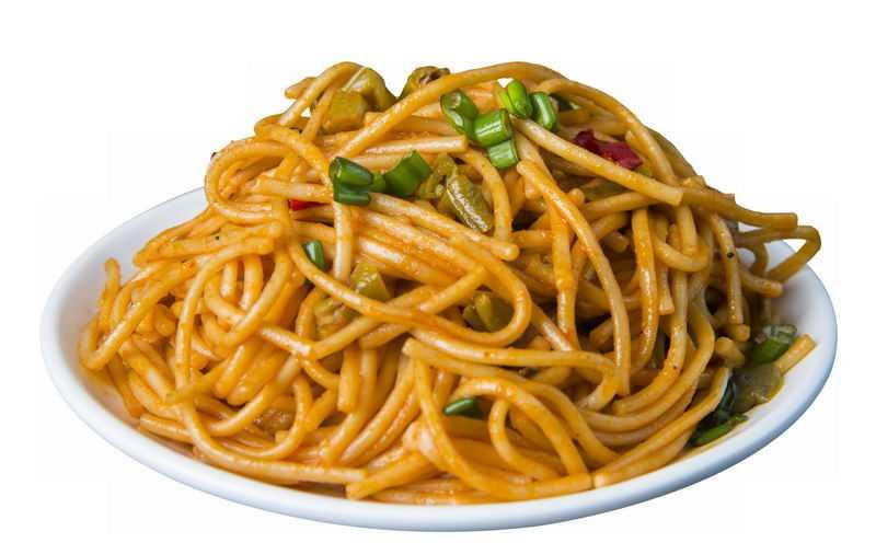 一盘炒面葱油拌面热干面美味美食特色小吃4974343png免抠图片素材