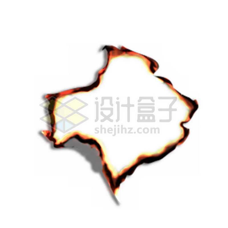 纸张燃烧效果2577758免抠图片素材