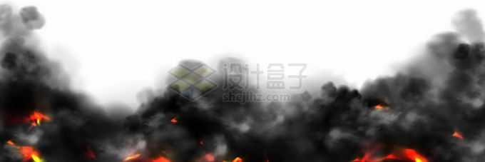 燃烧产生的黑烟浓烟滚滚8130383矢量图片免抠素材