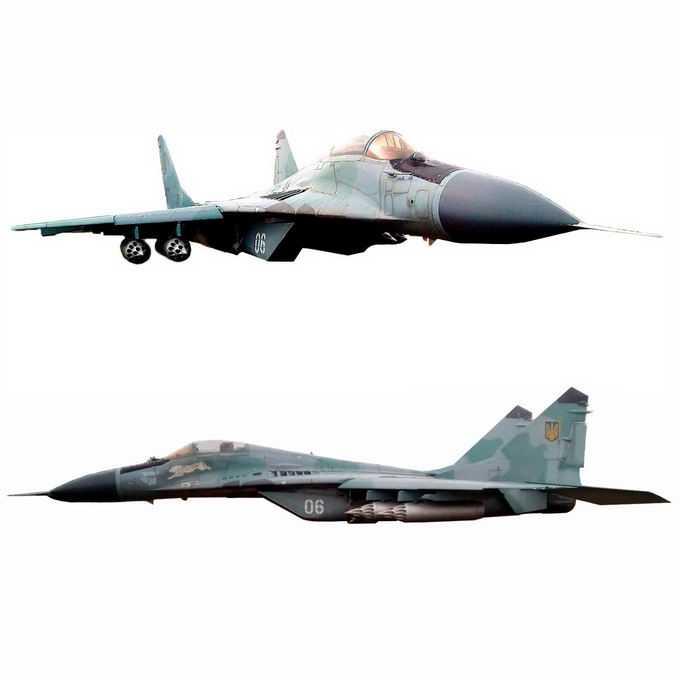 不同视角的米格29战斗机2029546png免抠图片素材