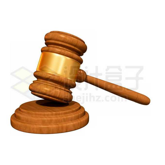 象征法院法律的木头法槌7749806免抠图片素材免费下载