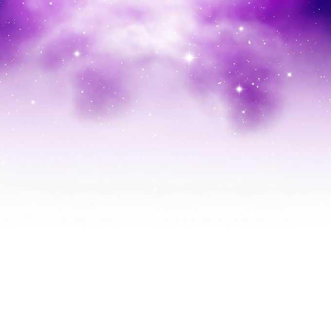 绚丽的紫红色星空星云和其中的点点繁星装饰效果6002057矢量图片免抠素材