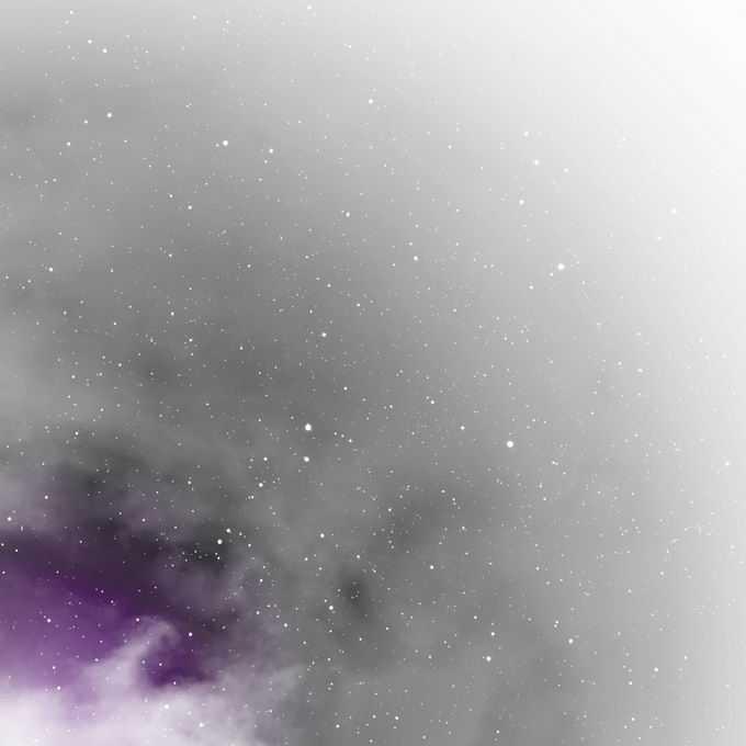 紫色星云和黑色星空繁星点点装饰效果9120084矢量图片免抠素材