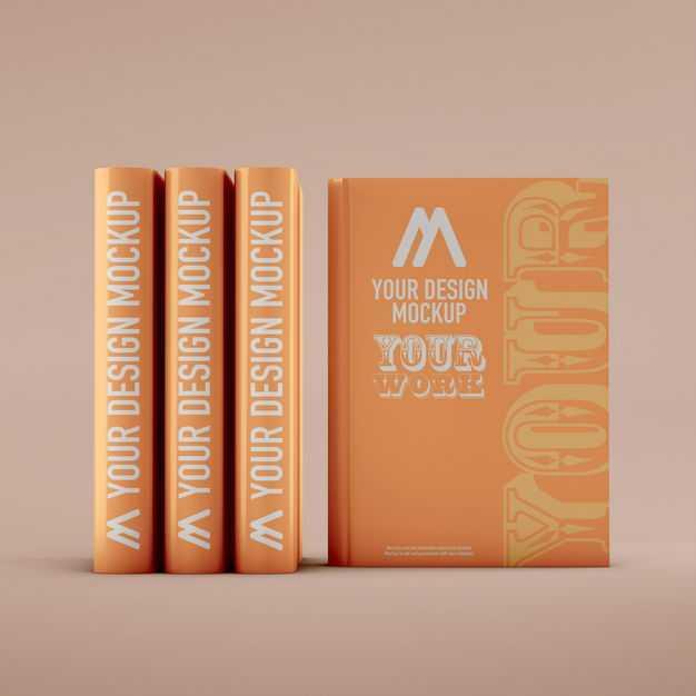 排列整齐的厚厚书本书籍封面书脊样机3961721免抠图片素材