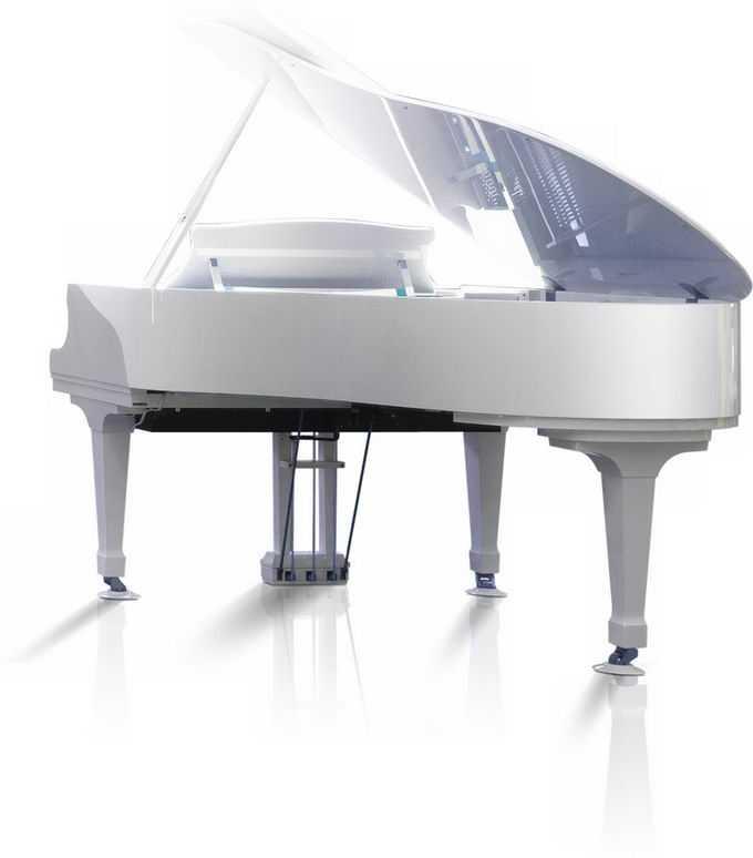 一台白色的钢琴弹奏乐器9566953png免抠图片素材