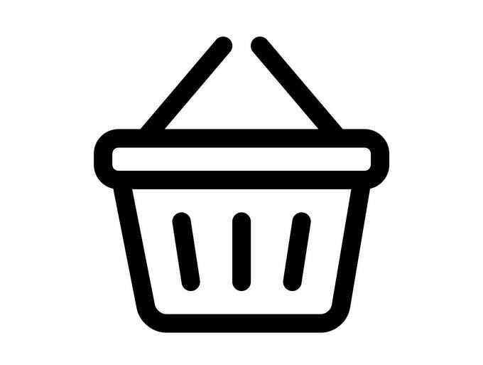 一款超市购物篮图标9901973矢量图片免抠素材免费下载