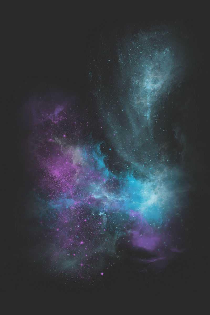 彩色粉末水彩渐变纹理绚丽星云效果7203056免抠图片素材