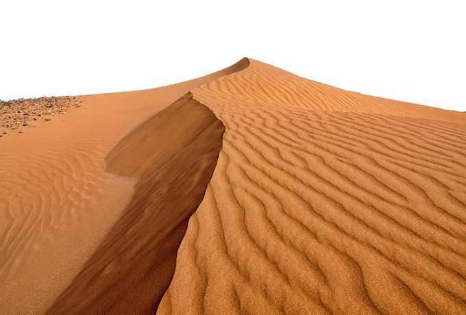 沙漠中高高的沙丘景观风景1109428png免抠图片素材