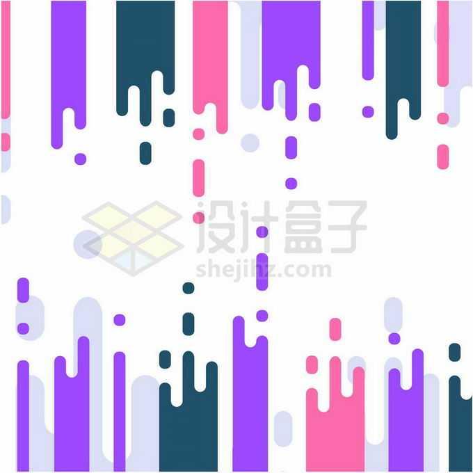 彩色MBE风格抽象边框流体边框装饰图案5739448矢量图片免抠素材