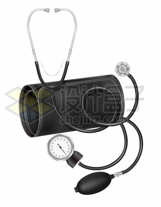 机械式血压计和听诊器医疗器械9097626矢量图片免抠素材免费下载