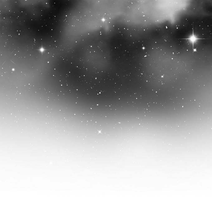 黑色白色的星空星云点点繁星星光效果装饰5417560矢量图片免抠素材