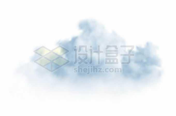 蓝灰色的云朵积雨云乌云4061831矢量图片免抠素材