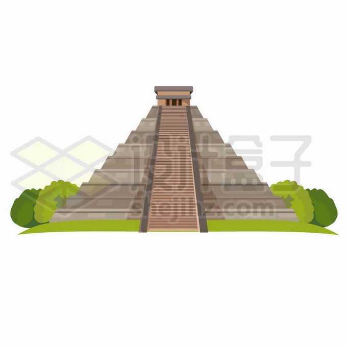 墨西哥的太阳金字塔世界知名景点3932906矢量图片免抠素材免费下载
