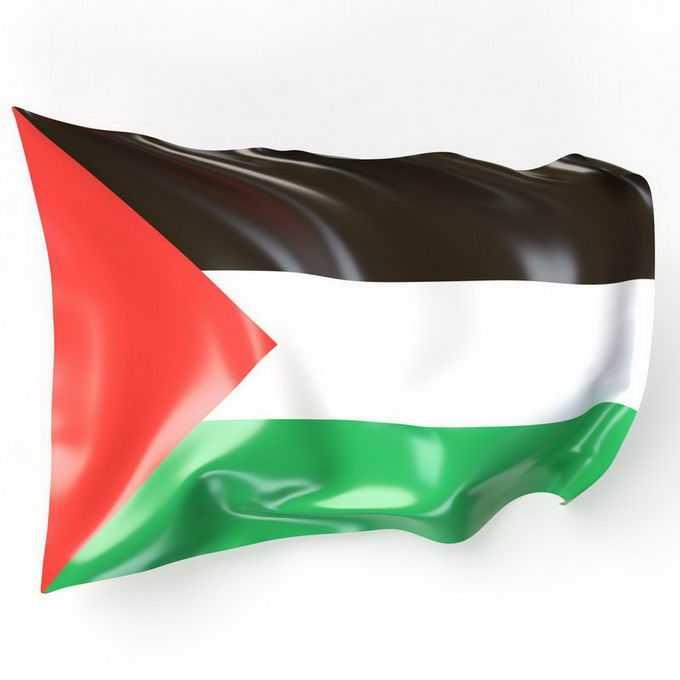 飘扬的巴勒斯坦国旗9552917免抠图片素材