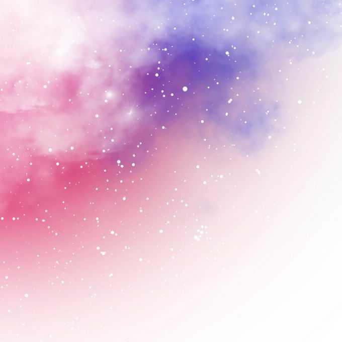 绚丽的粉色紫色星空星云装饰效果4720773矢量图片免抠素材