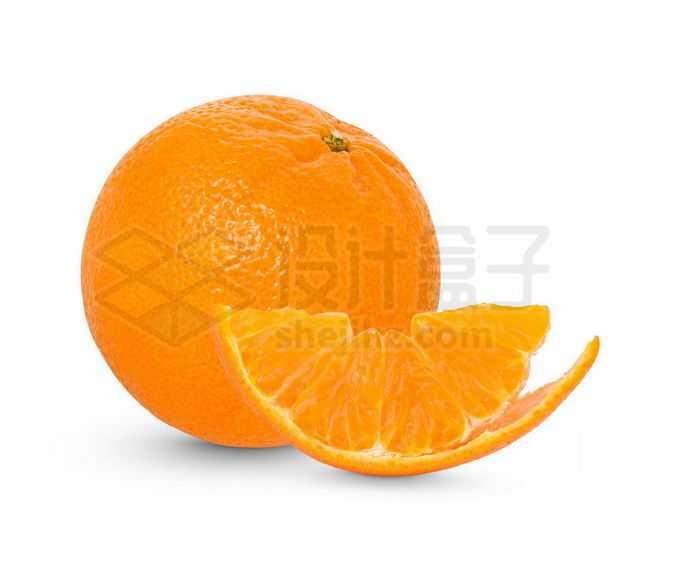 切开剥皮的橘子美味水果2329396免抠图片素材免费下载