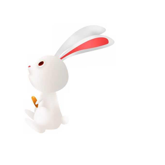 可爱的卡通小白兔7705530免抠图片素材
