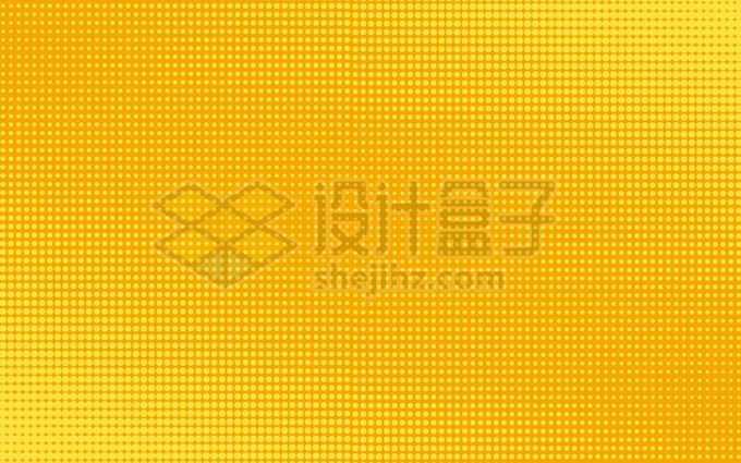 黄色斑点波点组成的波普风格背景图壁纸1617529矢量图片免抠素材免费下载