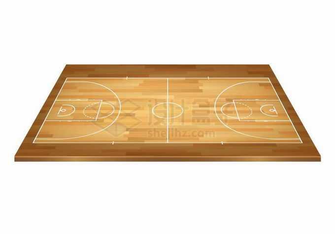 3D风格木地板的篮球场7137023矢量图片免抠素材免费下载