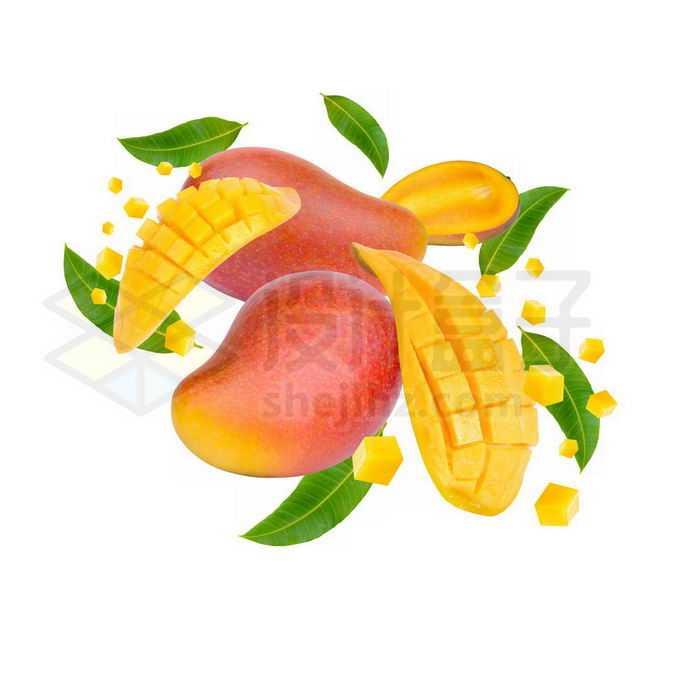 切开的芒果美味水果2963258免抠图片素材免费下载