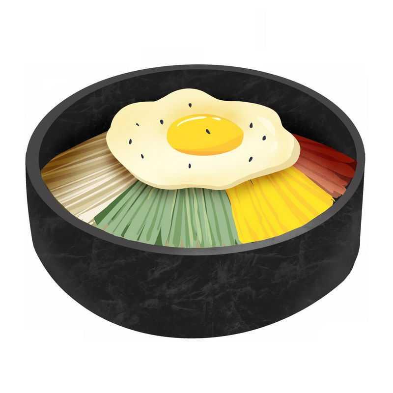 石锅拌饭韩国朝鲜族传统美食4307423免抠图片素材