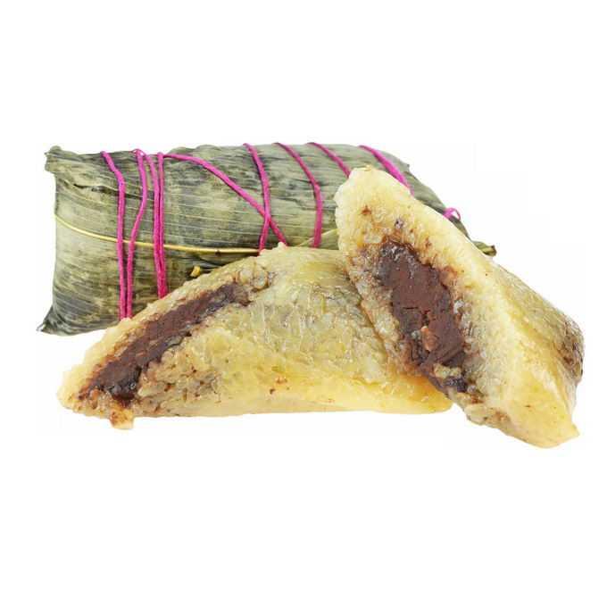 端午节长粽子马蹄粽豆沙粽传统美味美食1936887png免抠图片素材