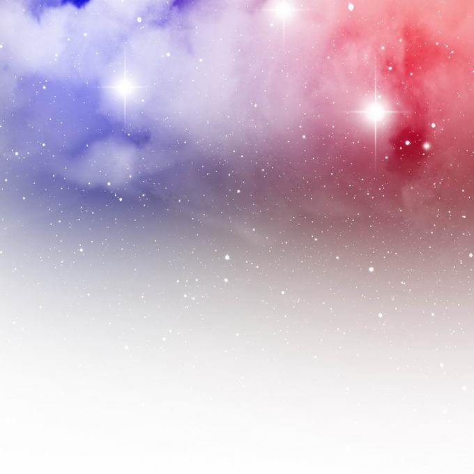 绚丽的紫色红色星空星云和星光装饰效果1181303矢量图片免抠素材 效果元素-第1张