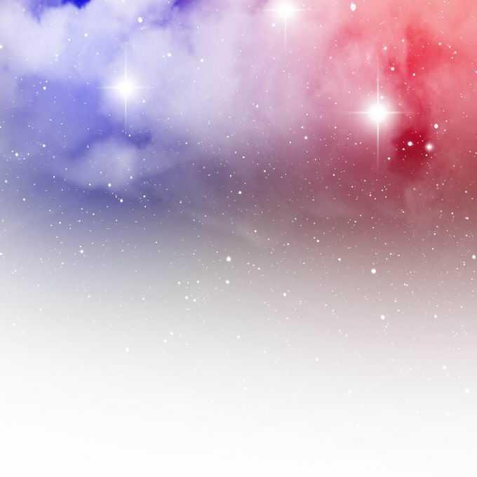 绚丽的紫色红色星空星云和星光装饰效果1181303矢量图片免抠素材