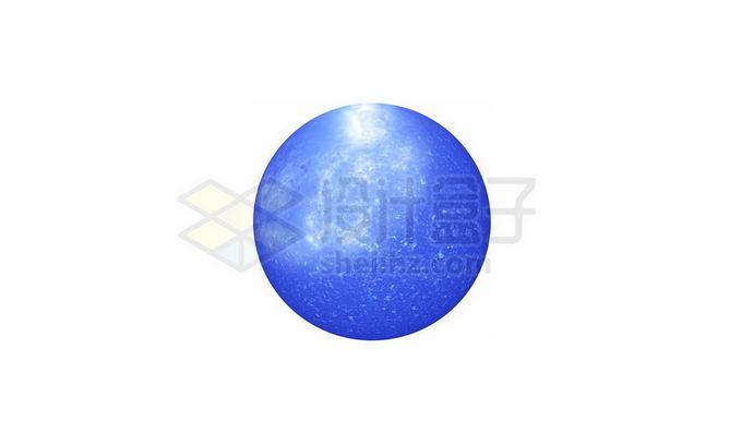 一颗蓝色恒星png免抠高清图片素材 科学地理-第1张