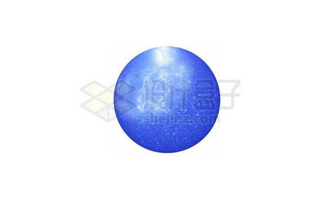 一颗蓝色恒星png免抠高清图片素材