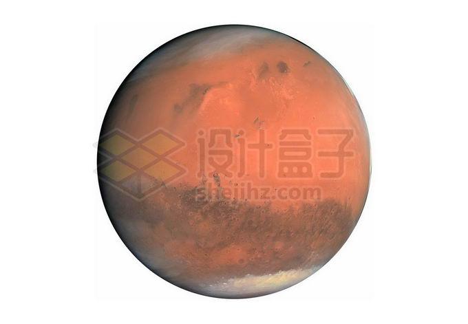 太阳系大行星火星红色星球png免抠高清图片素材 科学地理-第1张