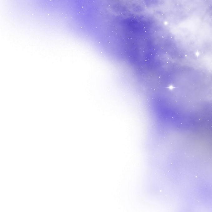 绚丽的紫色星空星云和星光装饰效果6796479矢量图片免抠素材 效果元素-第1张