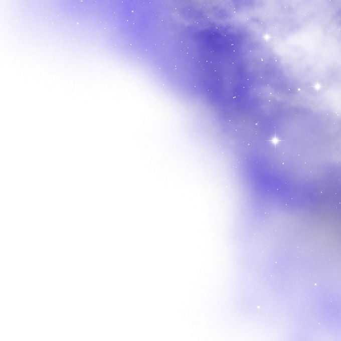 绚丽的紫色星空星云和星光装饰效果6796479矢量图片免抠素材