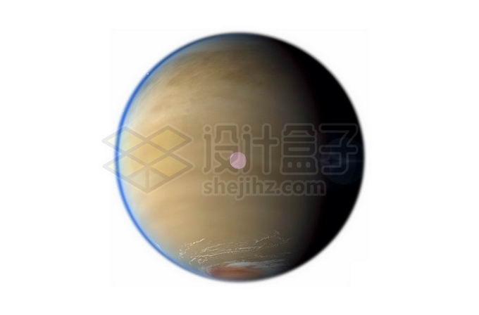 土星最大卫星土卫六泰坦星png免抠高清图片素材 科学地理-第1张