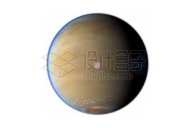土星最大卫星土卫六泰坦星png免抠高清图片素材