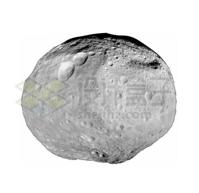 小行星带第二大天体灶神星png免抠高清图片素材
