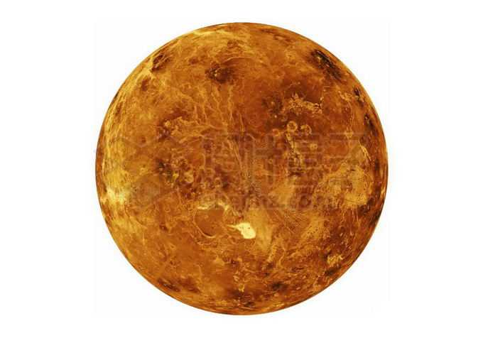 太阳系大行星金星png免抠高清图片素材