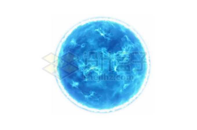 发出蓝白色光的恒星蓝特超巨星png免抠高清图片素材