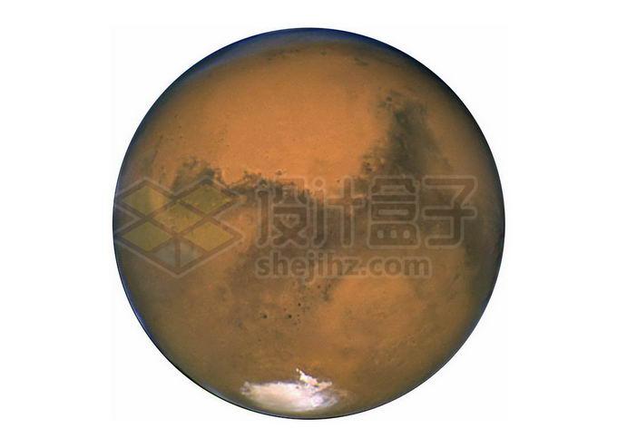 太阳系大行星火星png免抠高清图片素材 科学地理-第1张