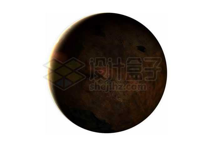 一颗超级地球系外行星的背面png免抠高清图片素材