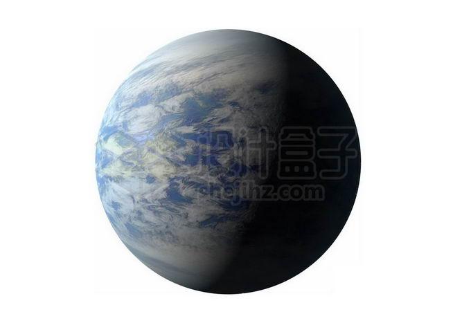 一颗海洋星球超级地球系外行星png免抠高清图片素材 科学地理-第1张
