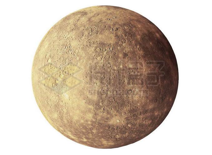 太阳系大行星水星表面细节png免抠高清图片素材 科学地理-第1张