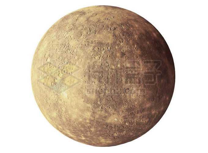 太阳系大行星水星表面细节png免抠高清图片素材
