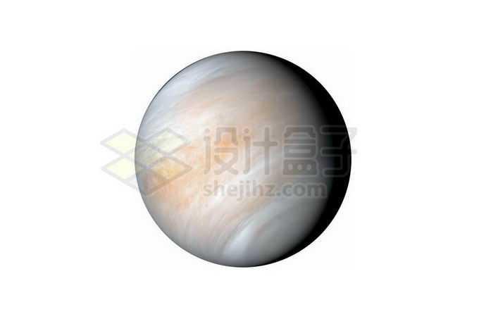 被大气层覆盖的金星png免抠高清图片素材