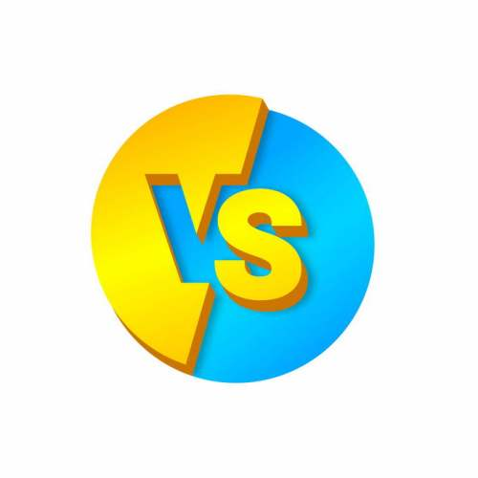 3D立体风格VS对比艺术字体3038191矢量图片素材