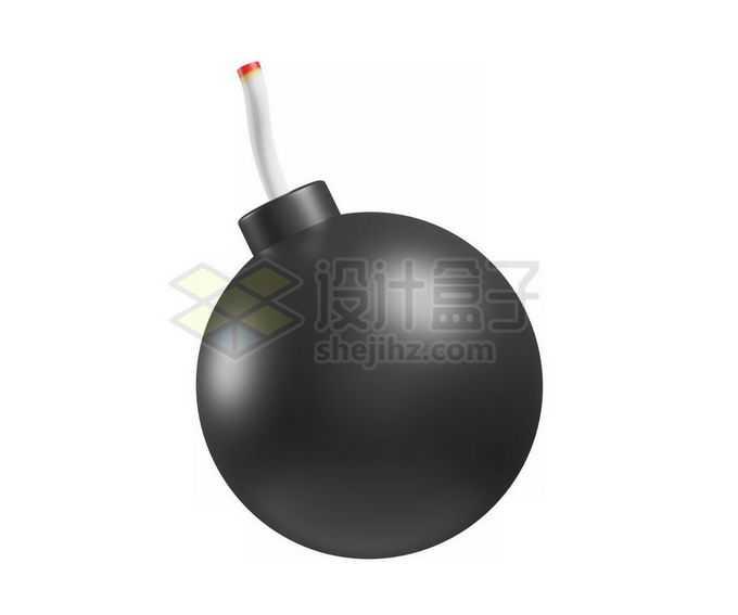 3D立体风格卡通炸弹圆球炸弹模型1994140免抠图片素材