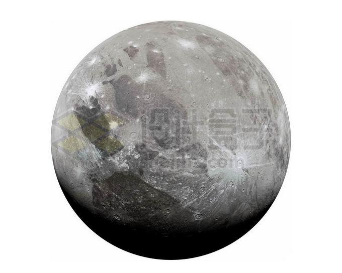 木星卫星木卫三png免抠高清图片素材 科学地理-第1张