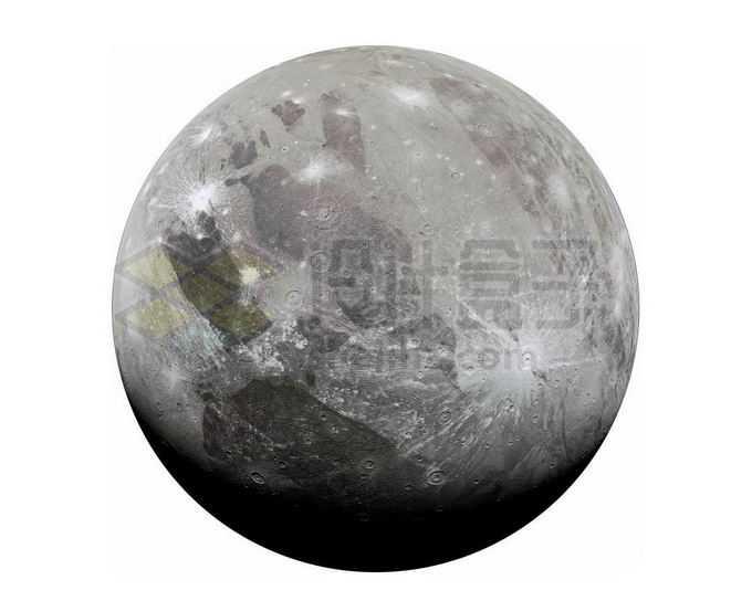木星卫星木卫三png免抠高清图片素材